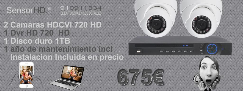 Camaras de vigilancia HD 720p