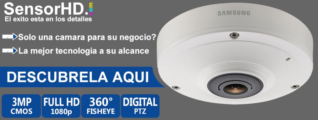 Camara vigilancia IP Samsung SNF 7010
